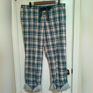 Aerie Cuffed Sleep Lounge Elastic Waist Pants M